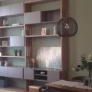 Redwood egyedi bútor: nappali